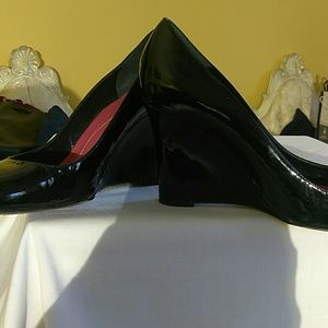 kate spade Shoes - Kate spade patent leather wedge